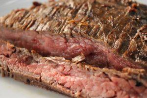 Gegrilltes Flank Steak